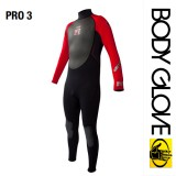 Гидрокостюм Bode Glove 2015 Pro3 3/2 Fullsuit Black/Red