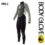 Гидрокостюм Bode Glove 2015 Pro3 3/2 Fullsuit Grey/Lime