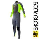 Гидрокостюм Body Glove 2015 Method 2.0 Bk/Zip 3/2 Fullsuit Green