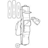 Сумка для сноуборда на колёсах Burton Wheelie
