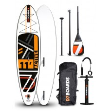 Надувной SUP борд D7 Boards 11'0 ACTIVE MSL2 2019 WindSUP с веслом