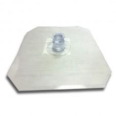 Клапан Dr.Tuba выпускной 11мм XL с основанием (15см х 15см)