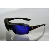 Очки для кайтсерфинга Kiteflash Brilliant Black Amalgam lenses blue