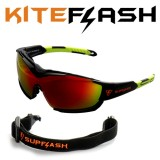 Очки для кайтсерфинга Kiteflash SupFlash Maui Galaxy Black Amalgam lenses