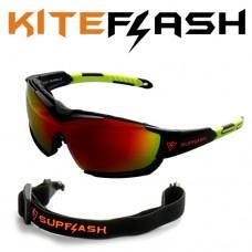 Очки для кайтсерфинга Kiteflash SupFlash Maui Galaxy Black Amalgam lenses