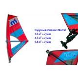 Надувной SUP surf  Mistral Crossover 11'0″ Windsup